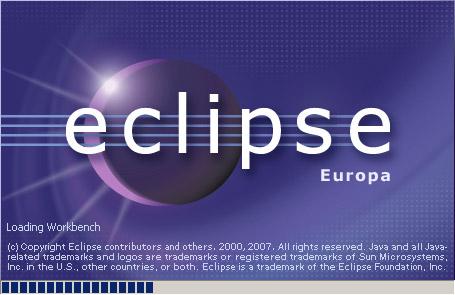 Eclipse起動